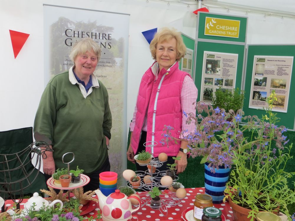 ARLEY GARDEN FESTIVAL Saturday 24 June and THE ROYAL CHESHIRE COUNTY SHOW Tuesday 20 & Wednesday 21 June
