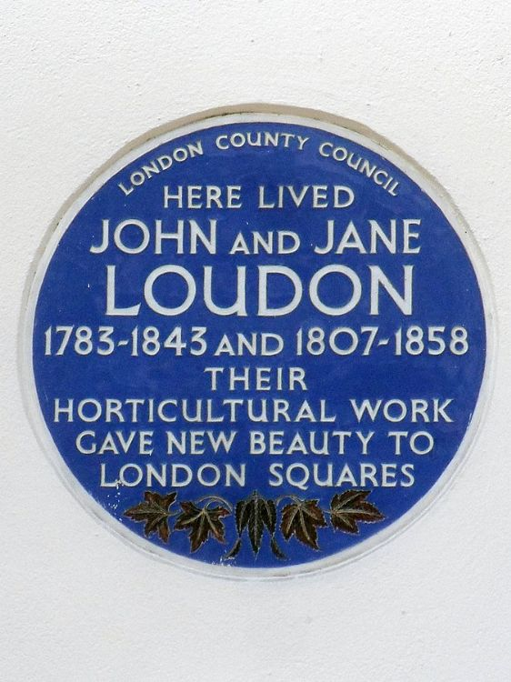Monday 11<sup>th</sup> January, 2pm<div style='margin: 5px 0px;'><span>John Claudius Loudon and his wife, Jane Webb  Talk by Simon Gulliver 11<sup>th</sup> January<span></div>